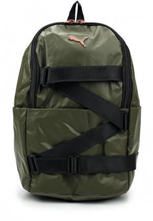 Рюкзак PUMA. Цвет: зеленый