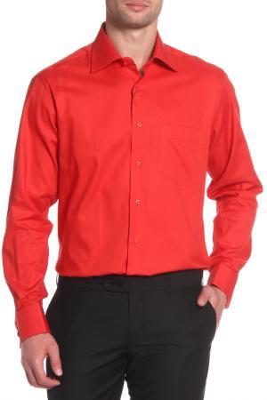 Сорочка Al Franco. Цвет: красный