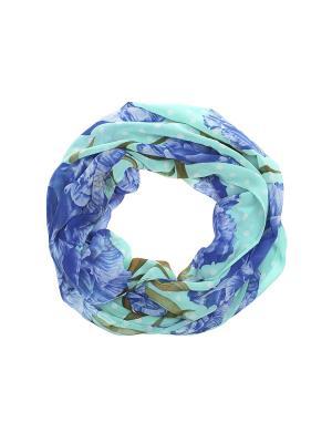 Снуд Gusachi. Цвет: бирюзовый,синий