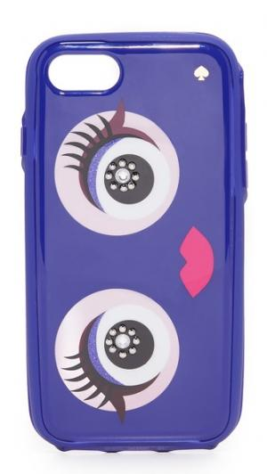 7 Чехол для iPhone с драгоценными монстр Kate Spade New York