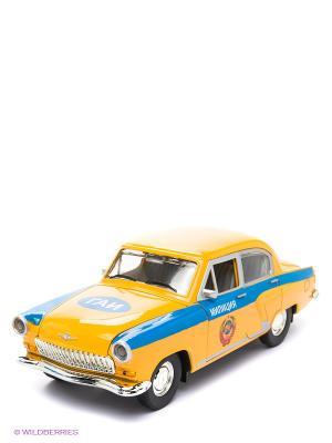 Машинка Волга АВТОПАНОРАМА. Цвет: желтый