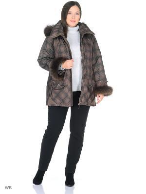 Куртка Никам VIKO. Цвет: светло-коричневый