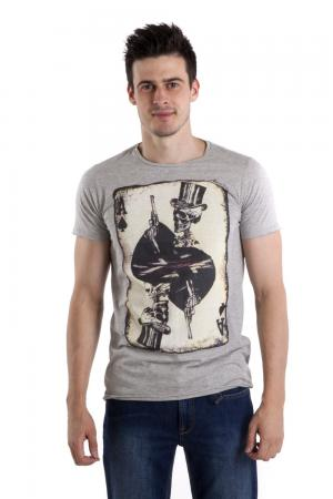 Футболкa Locust. Цвет: серый