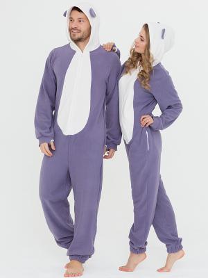 Пижама Футужама. Цвет: фиолетовый