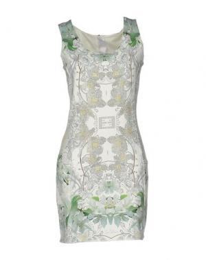 Короткое платье LES ÉCLAIRES. Цвет: слоновая кость