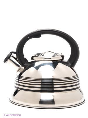 Чайник MAYER-BOCH. Цвет: серебристый, черный