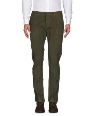Повседневные брюки BRIAN DALES. Цвет: зеленый-милитари