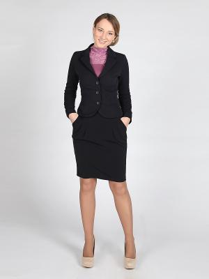 Пиджак 80 LVL. Цвет: темно-синий