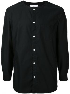 Collarless shirt Ones Stroke. Цвет: чёрный