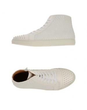 Высокие кеды и кроссовки THAKOON ADDITION. Цвет: белый