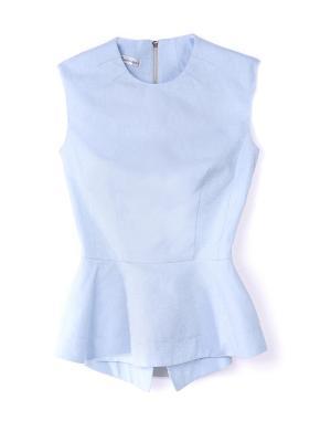 Блузка JN. Цвет: светло-голубой