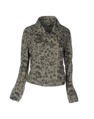Куртка ANIYE BY. Цвет: зеленый-милитари