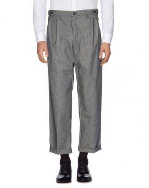 Повседневные брюки QUINTESSENCE. Цвет: свинцово-серый