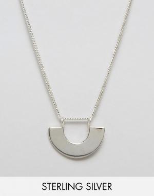 Fashionology Серебряное ожерелье. Цвет: серебряный