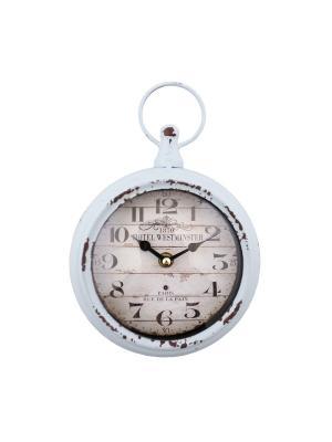 Часы настенные 16*21*4см PATRICIA. Цвет: голубой