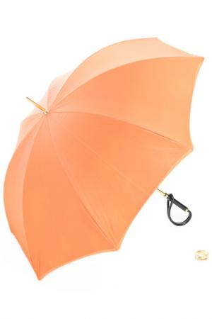 Зонт Pasotti. Цвет: оранжевый
