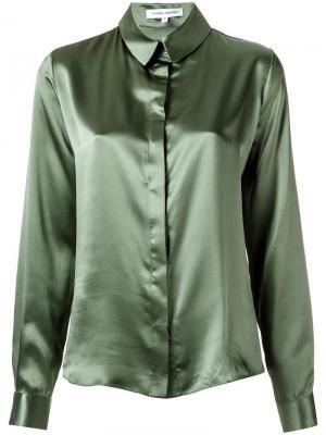 Silk shirt Gloria Coelho. Цвет: зелёный