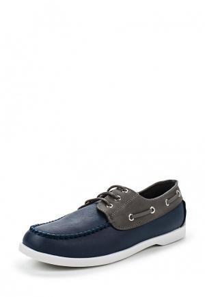 Топсайдеры WS Shoes. Цвет: синий