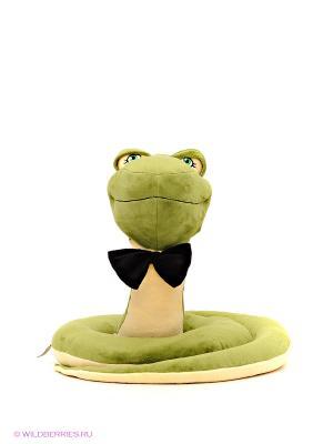 Змей Мудрый 40 см ORANGE. Цвет: зеленый, желтый, черный