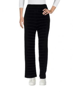 Повседневные брюки ES'TI. Цвет: черный
