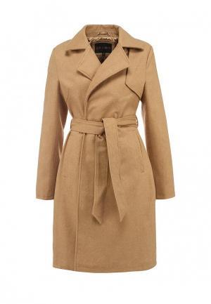 Пальто QED London. Цвет: коричневый