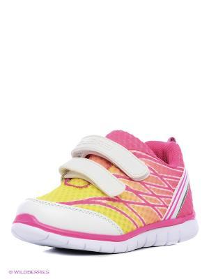 Полуботинки дошкольные кроссовые Зебра. Цвет: розовый