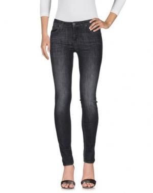 Джинсовые брюки LEE. Цвет: черный