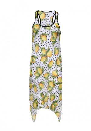 Платье пляжное Charmante. Цвет: разноцветный