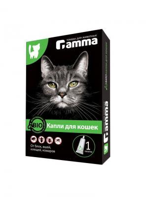 Биокапли для кошек Gamma. Цвет: прозрачный