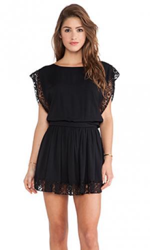 Платье saba Boulee. Цвет: черный