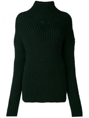 Джемпер крупной вязки A.F.Vandevorst. Цвет: зелёный