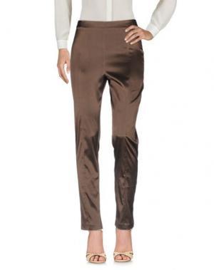 Повседневные брюки TAVIANI. Цвет: темно-коричневый