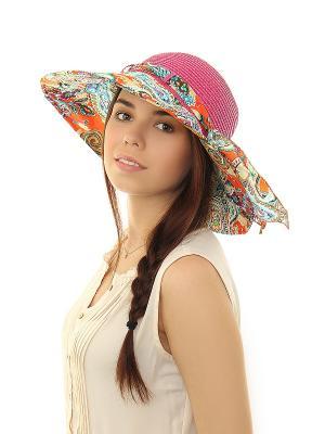 Шляпа Migura. Цвет: розовый, бирюзовый, оранжевый