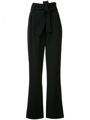 Широкие брюки с завышенной талией A.L.C.. Цвет: чёрный