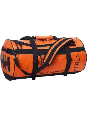 Сумка CLASSIC DUFFEL BAG 50L Helly Hansen. Цвет: оранжевый