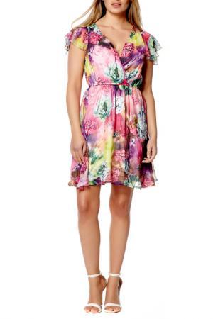 Платье Iska. Цвет: мультицвет
