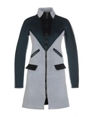 Легкое пальто FALORMA. Цвет: светло-серый