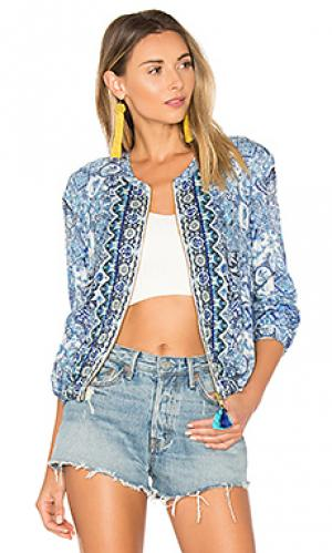 Куртка ceramic HEMANT AND NANDITA. Цвет: синий
