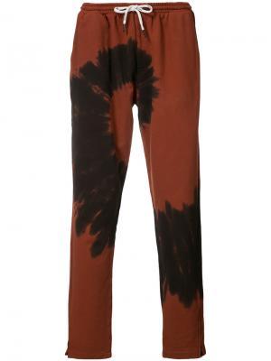 Спортивные штаны со шнурком Ovadia & Sons. Цвет: красный