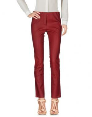 Повседневные брюки TAMARA MELLON. Цвет: кирпично-красный