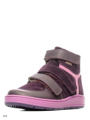 Ботинки Детский скороход. Цвет: фиолетовый