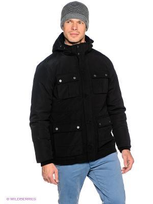 Куртка OUTFITTERS NATION. Цвет: черный