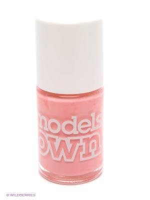 Лак для ногтей, Cream Sticky Fingers Bow Pink Models Own. Цвет: розовый