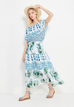 Платье Baon. Цвет: белый