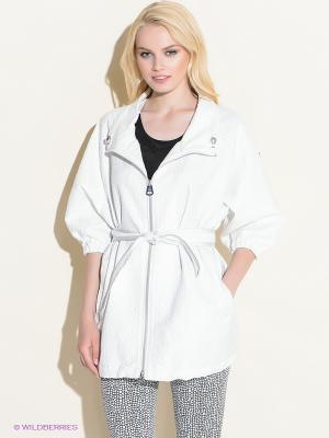 Пальто 18CRR81 CERRUTI. Цвет: белый