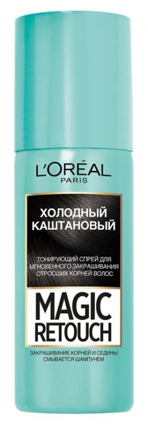 Временное окрашивание LOreal Paris L'Oreal Холодный каштановый. Цвет: холодный каштановый