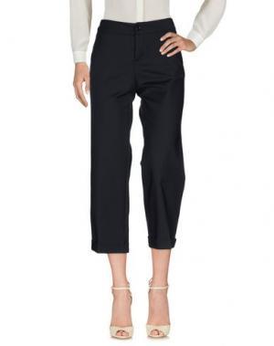 Повседневные брюки LA ROSE. Цвет: темно-синий
