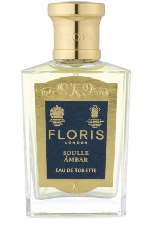 Туалетная вода Soulle Ambar Floris. Цвет: бесцветный