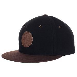 Бейсболка с прямым козырьком  Magic Adjustable Black/Brown Creature. Цвет: черный,коричневый
