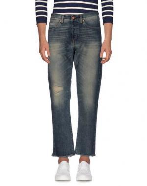 Джинсовые брюки OFF WHITE C/O VIRGIL ABLOH. Цвет: синий